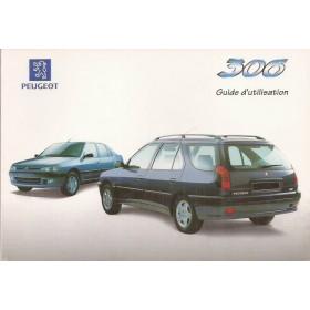 Peugeot 306 Sedan/Break Instructieboekje   Benzine/Diesel Fabrikant 97 ongebruikt   Frans
