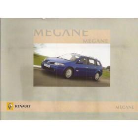 Renault Megane Grandtour Instructieboekje   Benzine/Diesel Fabrikant 08 ongebruikt in originele map  Nederlands