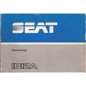 Seat Ibiza Instructieboekje   Benzine/Diesel Fabrikant 84 met gebruikssporen   Nederlands