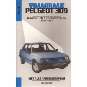Peugeot 309 Vraagbaak P. Olyslager  Benzine/Diesel Kluwer 85-93 nieuw   Nederlands