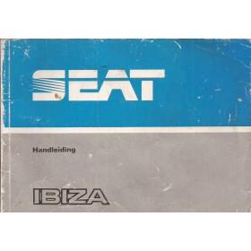 Seat Ibiza Instructieboekje   Benzine/Diesel Fabrikant 85 met gebruikssporen   Nederlands