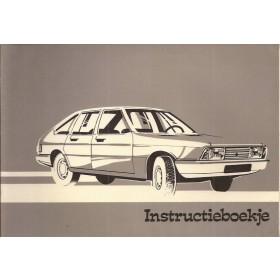 Simca 1307/1308 Instructieboekje   Benzine Fabrikant 78 met gebruikssporen   Nederlands