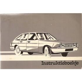 Simca 1307/1308 Instructieboekje   Benzine Fabrikant 79 ongebruikt   Nederlands