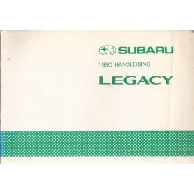 Subaru Legacy Instructieboekje   Benzine Fabrikant 90 met gebruikssporen   Nederlands