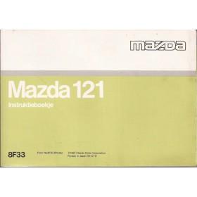 Mazda 121 Instructieboekje   Benzine Fabrikant 93 ongebruikt   Nederlands