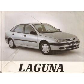 Renault Laguna Instructieboekje   Benzine/Diesel Fabrikant 94 ongebruikt   Engels