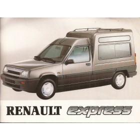 Renault Express Instructieboekje   Benzine/Diesel Fabrikant 92 ongebruikt   Nederlands