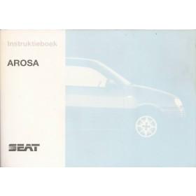 Seat Arosa Instructieboekje   Benzine Fabrikant 97 met gebruikssporen   Nederlands