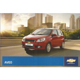 Chevrolet Aveo Instructieboekje   Benzine Fabrikant 08 ongebruikt   Nederlands