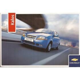 Chevrolet Kalos Instructieboekje   Benzine Fabrikant 06 ongebruikt   Nederlands
