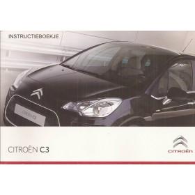 Citroen C3 Instructieboekje   Benzine/Diesel Fabrikant 10 ongebruikt   Nederlands