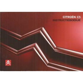 Citroen C5 Instructieboekje   Benzine/Diesel Fabrikant 04 ongebruikt    Nederlands