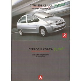 Citroen Xsara Picasso Instructieboekje   Benzine/Diesel Fabrikant 05 in originele map    Nederlands