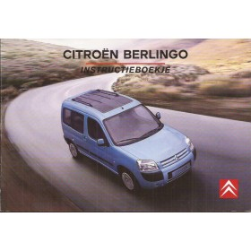 Citroen Berlingo VP Instructieboekje   Benzine/Diesel Fabrikant 04 ongebruikt   Nederlands