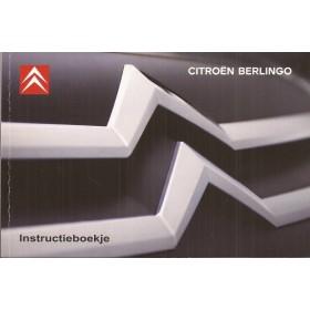 Citroen Berlingo VU Instructieboekje   Benzine/Diesel Fabrikant 08 ongebruikt in originele map   Nederlands