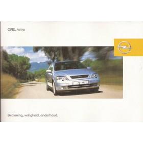 Opel Astra G Instructieboekje   Benzine/Diesel Fabrikant 03 ongebruikt   Nederlands