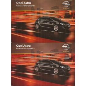 Opel Astra I Instructieboekje   Benzine/Diesel Fabrikant 11 ongebruikt in originele map   Nederlands