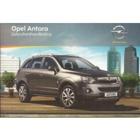 Opel Antara Instructieboekje   Benzine/Diesel Fabrikant 10 ongebruikt   Nederlands