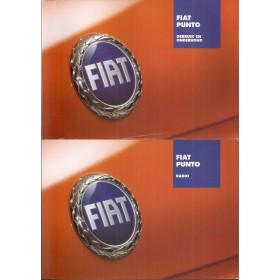 Fiat Punto Instructieboekje Benzine/Diesel Fabrikant 03 met gebruikssporen   Nederlands