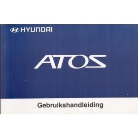 Hyundai Atos Instructieboekje   Benzine Fabrikant 01 met gebruikssporen   Nederlands