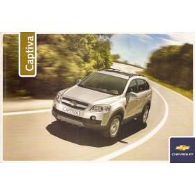 Chevrolet Captiva Instructieboekje   Benzine/Diesel Fabrikant 06 met gebruikssporen Nederlands