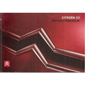 Citroen C5 Instructieboekje   Benzine/Diesel Fabrikant 06 met gebruikssporen Nederlands