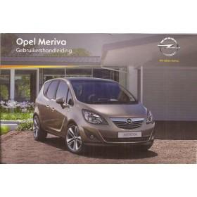 Opel Meriva B Instructieboekje   Benzine/Diesel Fabrikant 11 ongebruikt   Nederlands