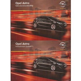 Opel Astra J Instructieboekje   Benzine/Diesel Fabrikant 11 met gebruikssporen   Nederlands