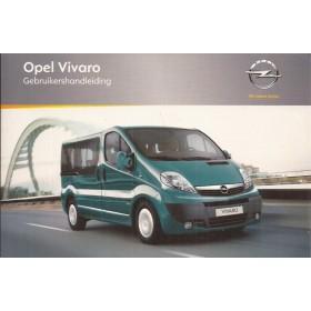 Opel Vivaro Instructieboekje   Benzine/Diesel Fabrikant 11 ongebruikt   Nederlands