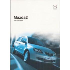 Mazda 2 Instructieboekje   Benzine Fabrikant 05 ongebruikt   Nederlands