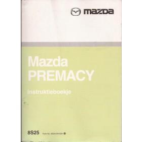 Mazda Premacy Instructieboekje   Benzine Fabrikant 03 met gebruikssporen   Nederlands