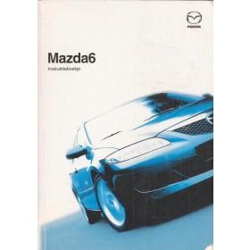Mazda 6 Instructieboekje Benzine/Diesel Fabrikant 05 met gebruikssporen Nederlands