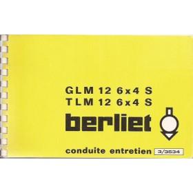 Berliet GLM/TLM Instructieboekje Diesel Fabrikant 71-75 ongebruikt Frans