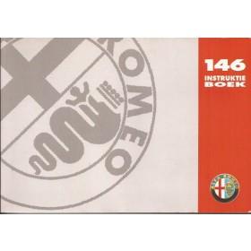 Alfa Romeo 146 Instructieboekje Benzine/Diesel Fabrikant 96 met gebruikssporen   Nederlands