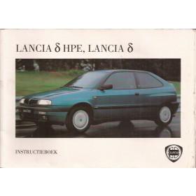 Lancia Delta Instructieboekje Benzine/Diesel Fabrikant 94 met gebruikssporen Nederlands