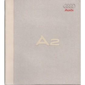 Audi A2, persdossier, 99, ongebruikt, Duits