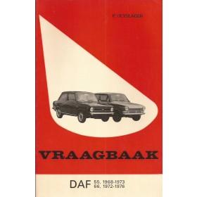 DAF 55/66 Vraagbaak P. Olyslager  Benzine Kluwer 68-76 ongebruikt   Nederlands