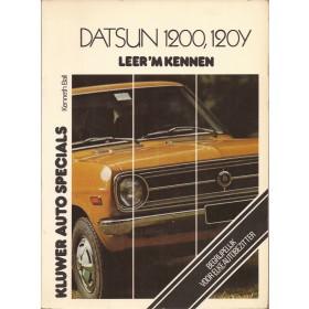 Datsun 1200/120Y Leer 'm kennen K. Ball  Benzine Kluwer 70-76 ongebruikt   Nederlands