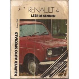 Renault 4 Leer 'm kennen K. Ball  Benzine Kluwer 69-77 met gebruikssporen vochtschade, beschadigde kaft  Nederlands