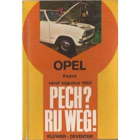 Opel Kadett B Pech?  Rij weg!   Benzine Kluwer 65-68 ongebruikt   Nederlands