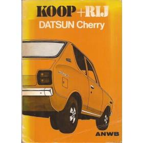 Datsun 100A Koop + rij   Benzine ANWB 74 met gebruikssporen   Nederlands