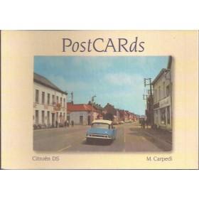Citroen DS PostCARDs M. Carpedi    03 ongebruikt   Nederlands
