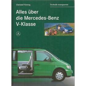 Mercedes-Benz V-klasse Alles Uber Mercedes-Benz Benz    96 ongebruikt   Duits