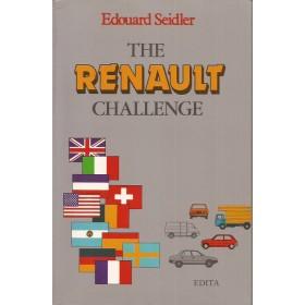 Renault Alle The Renault challenge E. Seidler  Benzine Edita 98-81 met gebruikssporen   Engels