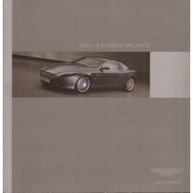 Aston Martin DB9  introDuitsctiemap 03 met gebruikssporen Engels
