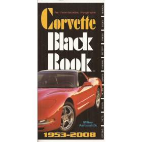 Chevrolet Corvette Black Book 53-08 overzichtsboek M. Antonick 07 ongebruikt Engels