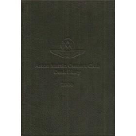 Aston Martin Desk Diary 08 overzichtsboek ongebruikt Engels