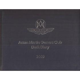 Aston Martin Desk Diary 09 overzichtsboek ongebruikt Engels