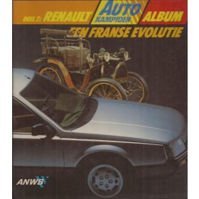 Renault Alle ANWB Album   Benzine ANWB 98-84 ongebruikt   Nederlands