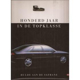 Renault Alle Honderd jaar in de topklasse Hulde aan de Safrane Introductieboek Benzine ANWB 98-92 ongebruikt Nederlands